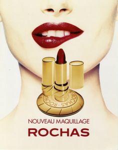 Make-up campanha publicitária a partir da década de 1990.