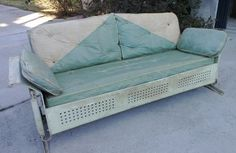 I M Using The Same Cushion Pattern In Its Restoration Porch Glidervintage