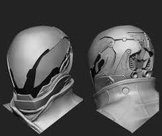 free pepakura destiny helmets - Google Search