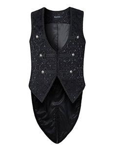 Mens Vest Waistcoat Tailcoat Black Damask Gothic Steampun... https://smile.amazon.com/dp/B01CE1USLI/ref=cm_sw_r_pi_dp_HLhExbFV0YNCE