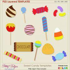 Sweet Holiday Candy Layered Element TEMPLATES #CUdigitals cudigitals.com cu commercial digital scrap #digiscrap scrapbook graphics