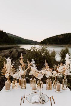 Boho Wedding Decorations, Wedding Centerpieces, Wedding Table, Fall Wedding, Rustic Wedding, Our Wedding, Dream Wedding, Wedding Ideas, Wedding Trends