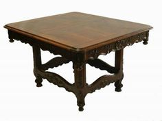 Rare French C19 Provencal Louis 3 leaf Extending Dining Table