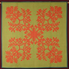 Aplique Quilts, Hawaiian Quilts, Paper Snowflakes, Paper Cutting, Tulip, Quilt Blocks, Quilt Patterns, Quilting, African