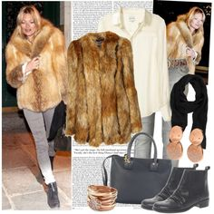 Love this faux fur jacket!