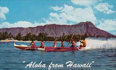 Canoe Surfing Aloha Hawaii by Kamaaina56, via Flickr