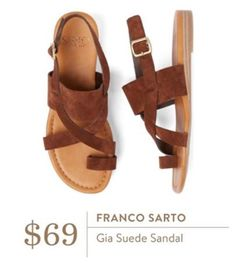J- love these and I desperately need sandals! I've got like one pair right now, and they're from at least two years ago!