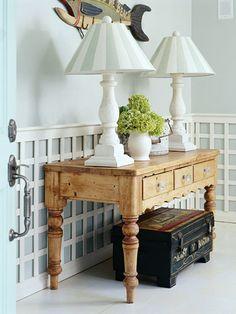 Living Room Trimwork Ideas