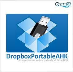 Almacena los contenidos de Dropbox en tu USB con DropboxPortableAHK -   Este programa te permite la sincronización entre tus carpetas de Dropbox y las carpetas de tu unidad de almacenamiento extraíble USB. De esta manera, puedes llevar tus contenidos a dónde quieras con total seguridad.  http://descargar.mp3.es/lv/group/view/kl230342/DropboxPortableAHK.htm?utm_source=pinterest_medium=socialmedia_campaign=socialmedia