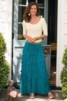 Snappy Swirl Skirt from Soft Surroundings