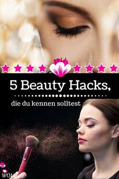 Ich habe hier 5 coole Beauty Hacks auf deutsch für euch. Klasse Schönheitstipps, die das Leben leichter machen. Tolle Möglichkeiten klassische Produkte im Notfall zu ersetzen und Lösungen für Probleme, die du vielleicht schon länger hast. Was das mit Krepppapier, Kakaopulver und Klarlack zu tun hat, erfährst du in meinem Beauty Hacks. #beauty #hack #tipps #deutsch