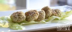 Quinoa, Chicken & Broccoli Nuggets - One Handed Cooks for the kids - ok and maybe me