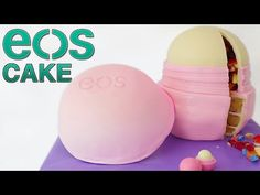 DIY GIANT EOS LIP BALM CAKE How To Cook That Ann Reardon diy EOS - YouTube