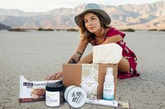 Mind-body wellness featuring natural self-care products, clean beauty, yoga/meditation accessories.