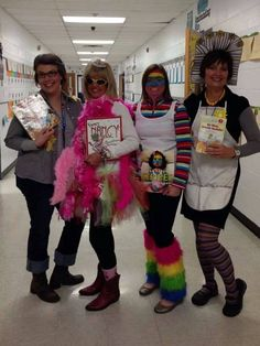 Unique School Halloween Costume Ideas and Inspirations ⋆ BrassLook Meme Day Costumes, Book Costumes, Book Week Costume, Costume Ideas, Storybook Character Costumes, Character Halloween Costumes, Storybook Characters, Book Characters Dress Up, Character Dress Up