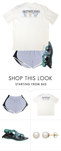 """""""really want these chacos!!"""" by preppy-ginger-girl ❤ liked on Polyvore featuring Vineyard Vines, Chaco and Honora Cute Teen Outfits, Lazy Outfits, Cute Comfy Outfits, Sporty Outfits, Cute Summer Outfits, Athletic Outfits, Simple Outfits, Everyday Outfits, Outfits For Teens"""