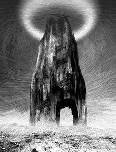 Zdzisław Beksiński Untitled grafika komputerowa [computer graphics], 2002