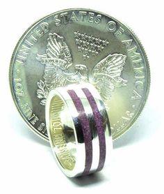 Amethyst birthstone ring an American silver eagle dollar coin ring Silver Eagle Coins, Silver Eagles, Amethyst Stone, Purple Amethyst, Amethyst Birthstone, Irish Jewelry, Coin Ring, Dollar Coin, Handmade Sterling Silver