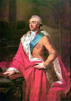 Prince Adam Kazimierz Czartoryski (1 December 1734 – 19 March 1823) c.1791, was an influential Polish aristocrat, writer, literary and theater critic, linguist, traveller and statesman. He was a great patron of arts and a candidate for the Polish crown.