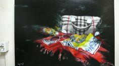 Disire5 / Oil on canvas, 2008 / 91 x 116 cm (35.8 x 45.7 inch)