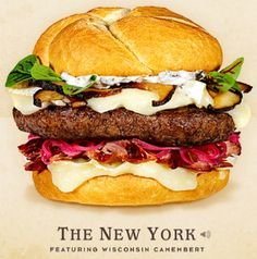 Cheeseburger Hall of fame The New York #Hamburger #recipe