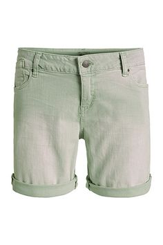 Esprit / Coloured Denim-Shorts mit Stretch
