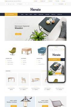 Hensia - Furniture Store WooCommerce Theme - Wordpress Themes and Plugins