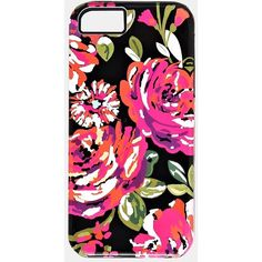 Pop Art Flowers Iphone 5/5s Hybrid Case (£2.63) ❤ liked on Polyvore featuring accessories, tech accessories, phone cases, phones, iphone case, pink, iphone cover case, apple iphone cases, pink iphone case and flower iphone case