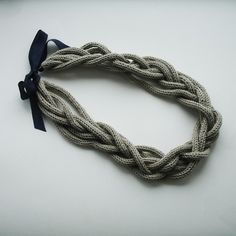 going to find a DIY knitting pattern for each individual rope.