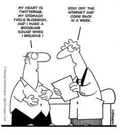 medical cartoons and jokes Bergen, Information Technology Humor, Today Cartoon, Cartoon Cartoon, Social Media Humor, Software, Doctor Humor, Tech Humor, Medical Humor