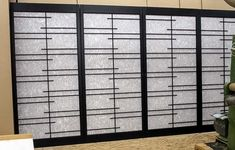 Shoji doors, screens, panels, windows and lights made in Oahu, Hawaii - Examples