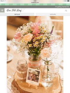 Fantastic wedding table decoration ideas for your wedding planning - # for . - Fantastic wedding table decoration ideas for your wedding planning – # for # … – cooking - Rustic Table Centerpieces, Centerpiece Ideas, Centerpiece Flowers, Barn Wedding Centerpieces, Rustic Wedding Table Decorations, September Wedding Centerpieces, Milk Bottle Centerpiece, Wood Slice Centerpiece, Table Flowers