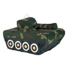 Camouflage Tank Piñata by Shindigz, http://www.amazon.com/dp/B000NBL3YI/ref=cm_sw_r_pi_dp_fgj2rb1FMCA6G
