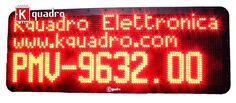 PMV-9632 Pannello a messaggio variabile WiFi