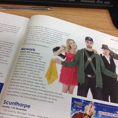 The @lockindanceshow is featured in the new issue of @lincstoday magazine. #scunthorpe #thebathshall