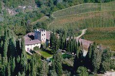 Castello di Verrazzano (Wine experience in Tuscan Castles)  #Tuscany #wine #italianfood