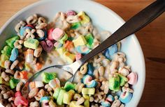 Lucky Charms...one of my favorites