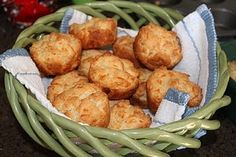 Trisha Yearwood's Cheese Garlic Muffins- my favorite version