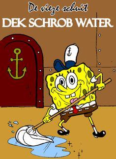 Voor de grote piraten is er natuurlijk een thermoskan met Dek schrob water (thee)  #piratenfeest