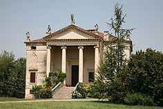 Villa Chiericati-Rigo, Designed by Andrea Palladio in 1550s, Vancimuglio, Veneto, Italy. World Heritage Site by UNESCO