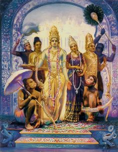 Dandavats | The incident of Lord Rama and the Dog