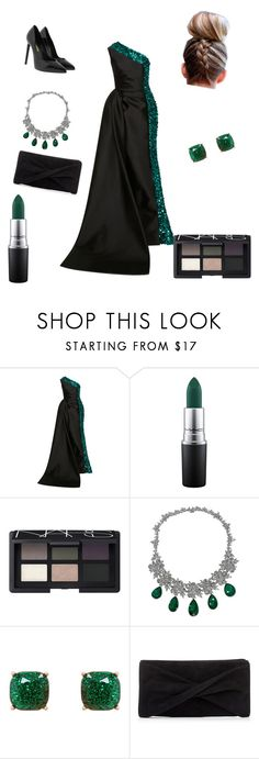 """""""prom dress number 3"""" by mountaindewqueen15 ❤ liked on Polyvore featuring Elizabeth Kennedy, MAC Cosmetics, NARS Cosmetics, Humble Chic, Reiss and Yves Saint Laurent"""