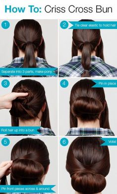 20 Very-Easy Hairstyles for Very-Busy Mornings - 17 #ShortHairstyles