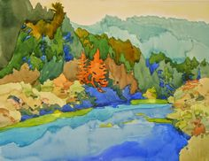 robin purcell california watercolors in the plein air tradition