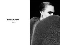 Cara Delevingne by Hedi Slimane for Saint Laurent 'La Collection de Paris'   The Fashionography