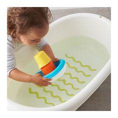 SMÅKRYP Badespielzeug, 3 Teile - - - IKEA