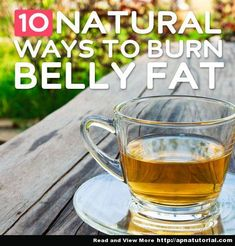Natural Ways to Burn Belly Fat- and keep it off for good
