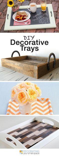 Diy Decorative Trays