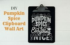 Fall DIY Chalkboard