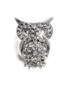 Owl Ring in Silver - $5.00 : FashionCupcake, Designer Clothing, Accessories, and Gifts